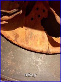 WW2 German Austrian M16 Transitional ReIssued Rare Double Decal Helmet Stahlhelm