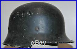 WW2 German Civil Police Helmet with Liner dated 1934