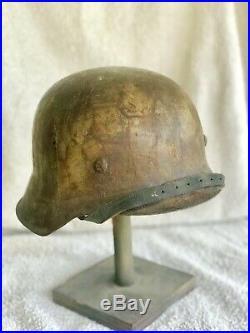 WW2 German Combat Helmet