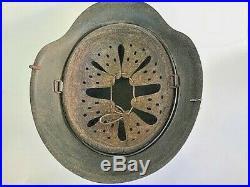 WW2 German Combat Helmet. M42. Elite Units. Complete withLiner. Size 64/56. Orig
