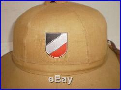 WW2 German DAK Afrika Luftwaffe pith helmet, 1942, size 59, orig