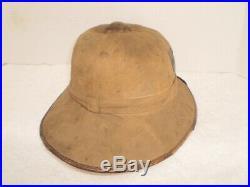 WW2 German DAK Afrika Luftwaffe pith helmet, orig