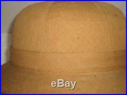 WW2 German DAK Afrika Luftwaffe pith helmet, size 57, orig