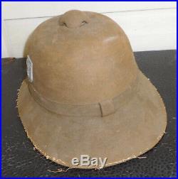 WW2 German DAK Afrika Pith Helmet, Size 55, 1942