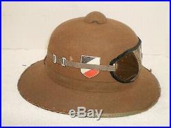 WW2 German DAK Afrika pith helmet, 1941, size 58, orig