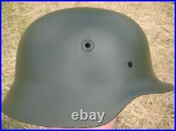 WW2 German Helmet M35 Stalhelm SE64
