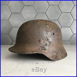 WW2 German Helmet M35 Wehrmacht Stahlhelm M35 with liner Original Equipment