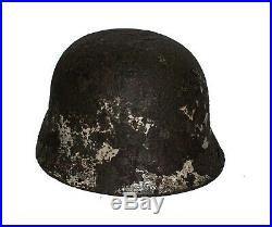 WW2 German Helmet M40 Size 66 Winter amo. The Battle for Stalingrad. Relic