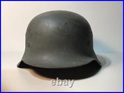 WW2 German Helmet M42 EF68, Minty Monster