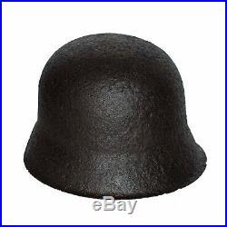 WW2 German Helmet M42 size 64 with Mask + Dog Tag. World War II Relic