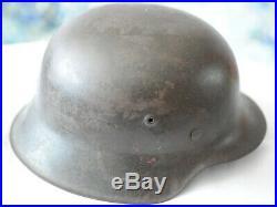WW2 German Helmet Original 66 Size 1943 Wehrmacht