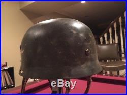 WW2 German Helmet Paratrooper Fallschirmjager M36 M38