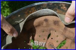WW2 German Helmet Zinc-Coated Steel Liner Size 61