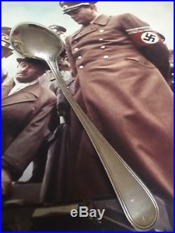 WW2 German Hitler Albert Speer Spoon Obersalzberg Berghof Eva Braun Helmet