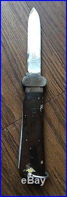 WW2 German Knife Dagger Helmet SMF Solingen GI Bringback Souvenir