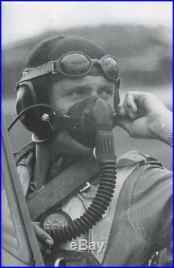 WW2 German LKpN101 Netzkopfhaube Pilot Helmet Ln. 26670 RARE VERSION Me109