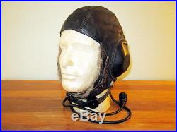 WW2 German LKpW101 Fliegerkopfhaube Winter FUR Flight Helmet Ln. 26618 RARE