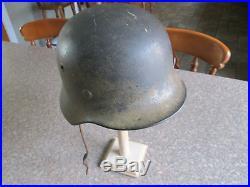 WW2 German Luftwaffe Mediterranean/DAK Camo Helmet Single Decal Great