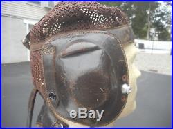 WW2 German Luftwaffe Summer Mesh Helmet Size Med LKPN-101