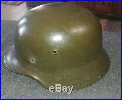 WW2 German M35 Helmet Shell SE64 Lot 4088 Original