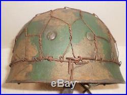 WW2 German M38 fallshirmjager, para Camo helmet lamp