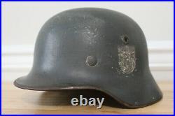 WW2 German M40 SD Named Helmet