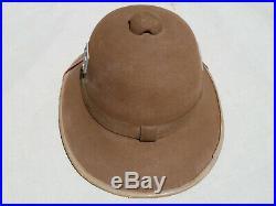 WW2 German Original DAK Afrika Pith Helmet, Size 56, 1942