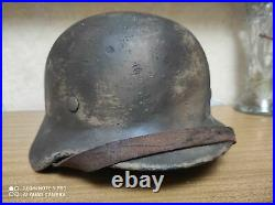WW2 German Original Helmet WOW! Camo #1