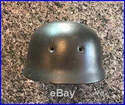 WW2 German Paratrooper Helmet 68 Shell Original