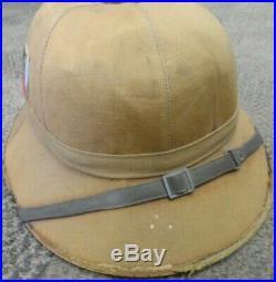 WW2 German Pith Helmet