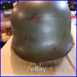 WW2 German Police Helmet Double Decal