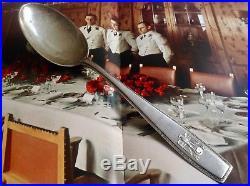 WW2 German Spoon Adolf Hitler bruckmann obersalzberg berghof no helmet Elmetto
