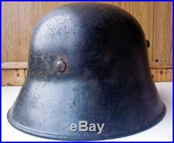 WW2 German Transitional Austrian Helmet M17/66 with liner Full Original