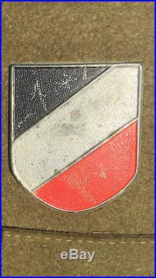 WW2 German Tropical Helmet Untouched Original Condition both Decals Africa Korps