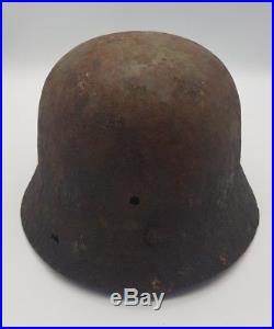 WW2 German Wehrmacht Relic M40 M35 M42 Helmet Normandy Metal