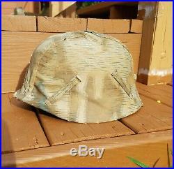 WW2 German army Elite Combat Helmet Camouflage Cover splinter pattern