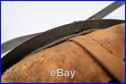 WW2 German combat Luftwaffe helmet US Army WWI pot lid Wehrmacht leather liner