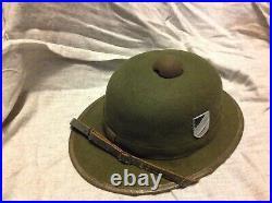WW2 German helmet Afrika Korps 1942