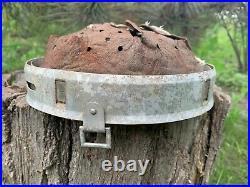 WW2 German helmet Aluminum liner DRP 1937 64/57