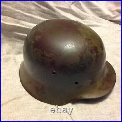WW2 German helmet M35 SE64 DD