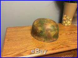 WW2 German helmet M38 Paratrooper Normandy Camo