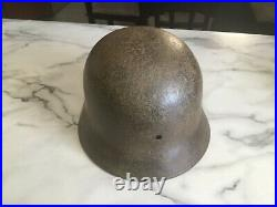 WW2 German helmet M40/64 Afrika korps
