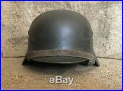 WW2 German helmet M40 Waffen SS