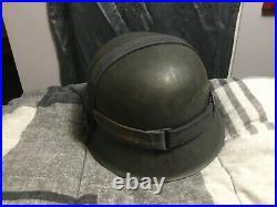 WW2 German helmet M42 ET66