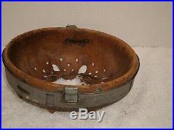 WW2 German zinc M31 helmet liner, size 64/57, 1943