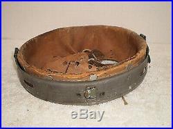 WW2 German zinc M31 helmet liner, size 66, 1943
