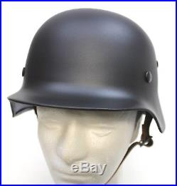 WW2 M35 GERMAN ARMY STEEL HELMET STAHLHELM REPLICA 60-62cm