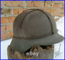WW2 M35 German Helmet WWII Original Battle helmet