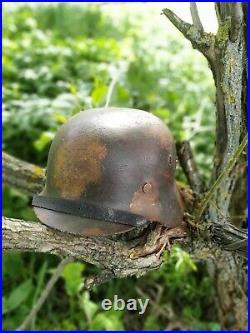 WW2 M40 German Helmet WWII M 40. Combat helmet