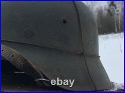 WW2 M42 German Helmet WWII M 42. Combat helmet